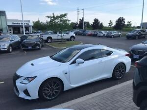 2015 Lexus RC F PERFORMANCE PKG - RED LEATHER, NAVIGATION