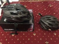 1 large And 1 medium cycle helmet