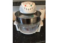 Large halogen cooker