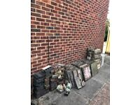 *FREE* needs to go today (Friday) Bricks, concrete / boarder blocks and patio slabs