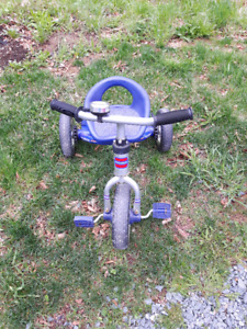 Blue boy or girl's tricycle