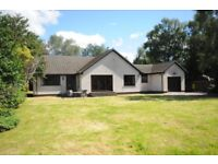 Detached, fully furnished, three bedroom bungalow, in Roy Bridge, outside Fort William.