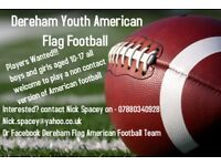 Dereham Flag American Football 🏈