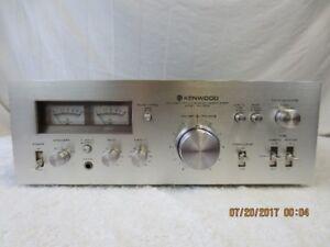 Vintage Kenwood KA-5500 Integrated Amp Serviced