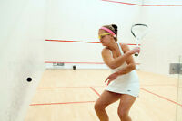 One on one squash lessons