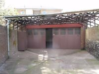 Freehold Garage / Workshop/ Storage with Inspection Pit and Yard