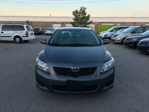 2009 Toyota Corolla. CERTIFIED, E TESTED, WARRANTY, NO ACCIDENT