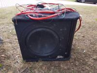Sub with built in amp