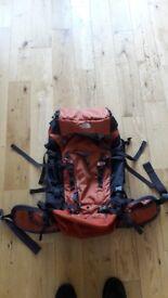Northface Forge 45 back pack/ruck sack