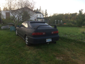 Looking to trade my 97 Acura integra for a 4x4