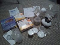 Tommee Tippee electric breast pump with steriliser and accessories