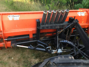 Pro fusion tractor blade and sub frame also a Norman blower