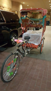 INDIAN BICYCLE OR RICKSHAW FOR RENT