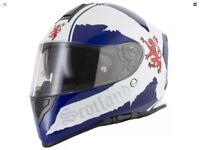 VCan, Scotland crash helmet.