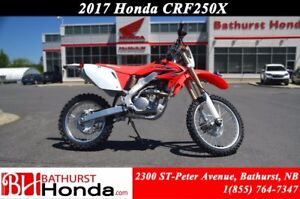 2017 Honda CRF250X Canadian Trail-Ready!! High RPM Power!