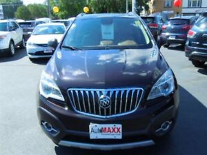 2013 BUICK ENCORE LEATHER- SUNROOF, NAVIGATION SYSTEM, REAR VIEW