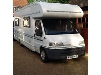 BESSACARR E695 6 BERTH MOTORHOME LOW MILEAGE MANY EXTRAS