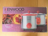 Kenwood Slow Cooker and Rice Steamer Set
