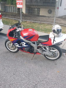 98 honda cbr 929 rr trade for seadoo with trailer or $3000