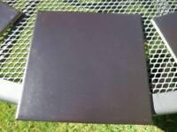 100 Black Italian floor/wall tiles