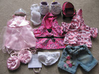 Bundle 3- Bear clothes (BABW or equivalent) with flashing sketchers trainers-£10