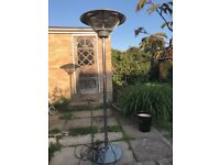 Electric patio/space heater