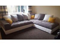 FERRARA relaxation and comfort brand new sofa corner sofa couch settee