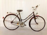 Classic Khalkhov Vintage city bike Hub gears Medium Frame Full mudguards