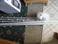 curtain rail plastic