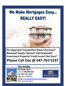 GET APPROVED for your Mortgage