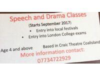 Speech and Drama Classes