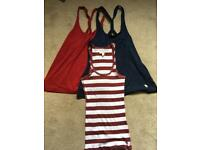 Abercombie and fitch women's bundle of vests