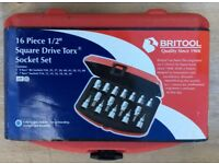 BRITOOL TORX SOCKET SET