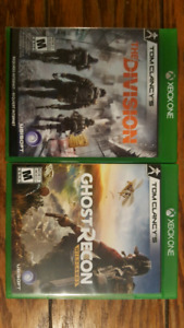 Tom Clancy's The Division/Ghost Recon Wildlands/Halo 5