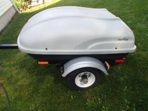 Sport Rack ultralite trailer motorcycle or small car like new!