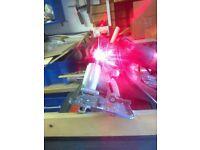 Mains extreme challenge 1500 watt, circular saw with laser