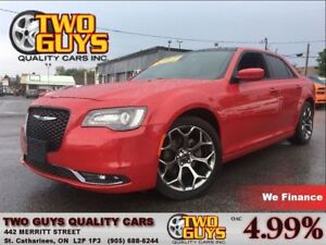 2015 Chrysler 300 S LEATHER NAVIGATION MOON ROOF