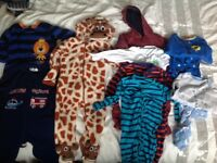 Boys 12-18 months sleepwear bundle