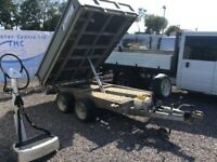 Indespension tipping trailer 2011 mint condion like new