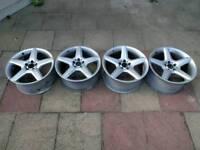 "Genuine 19"" AMG III alloy wheel set"