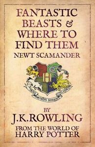 FANTASTIC BEASTS AND WHERE TO FIND THEM BOOK ****MINT CONDITION