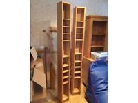 2 x IKEA Billy Slim Bookcase