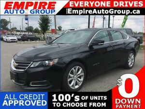 2017 CHEVROLET IMPALA LT * LEATHER/CLOTH * BLUETOOTH * SAT RADIO