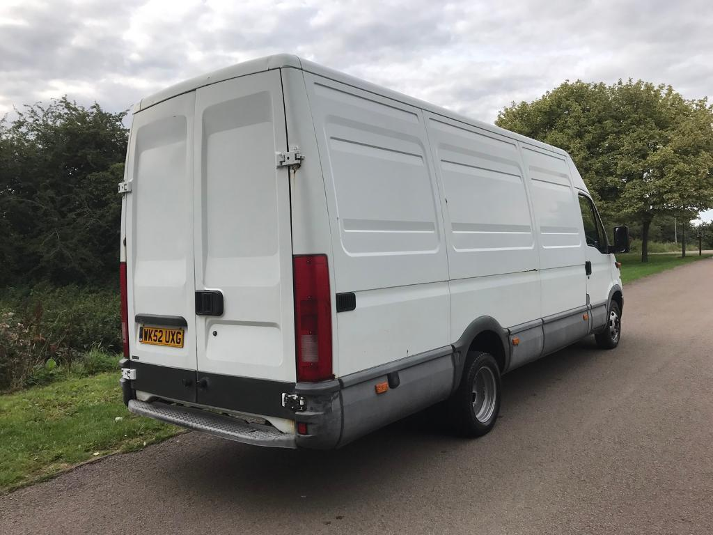 2002 iveco daily xlwb 6 speed extra long wheelbase long mot 2 8 diesel in kettering. Black Bedroom Furniture Sets. Home Design Ideas