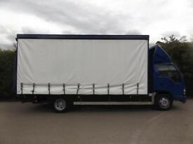 2008 Isuzu Truck NQR 5.2 CURTAIN SIDE - TAIL LIFT - 7.5 Ton