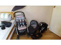 Complete travel set from mama's and papas