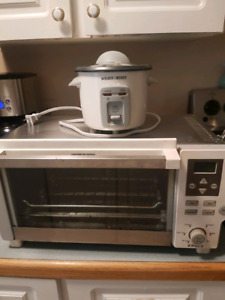 Toaster oven and rice maker
