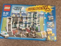 Lego 4 in 1 police super pack - 66428 very rare
