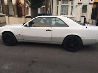 Lovely Mercedes 230CE for sale with one owener from new.