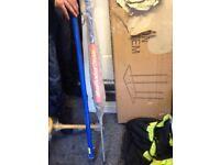 instalation support press beam